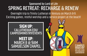 Spring Retreat: Renew & Recharge
