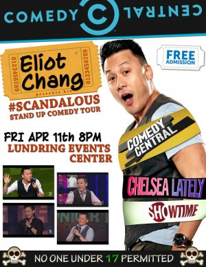 Eliot Chang's #SCANDALOUS Stand Up Comedy Tour