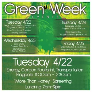 Green Week: Alternative Transportation and Clean Energy