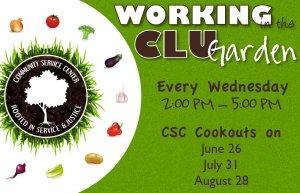 CLU Garden Work!