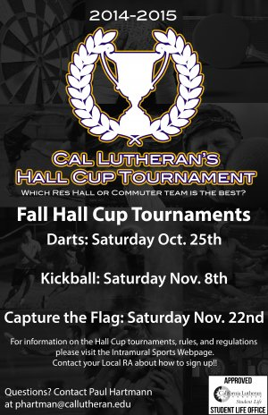 Hall Cup Tournament: Darts