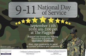 9/11 National Day of Service