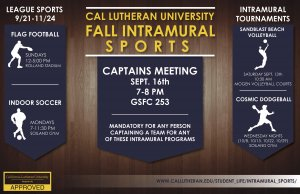 Intramural Sports Flag Football League