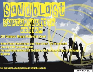 Sandblast Beach Volleyball Tournament