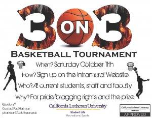 3 vs. 3 Basketball Tournament