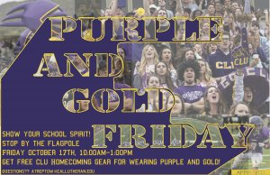 Purple & Gold Friday