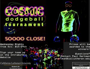 Cosmic Dodgeball Tournament