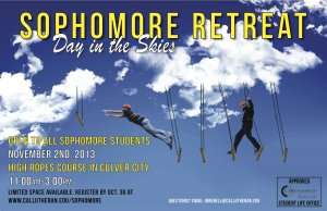 Sophomore Retreat: Take to the Skies