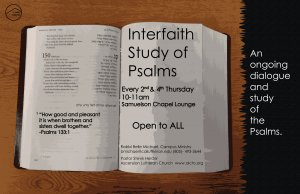Interfaith Study of Psalms