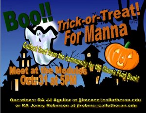 Trick-or-Treat for Manna