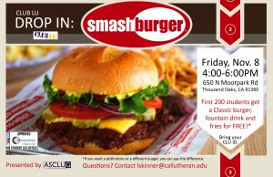 Club Lu: Drop In at Smashburger