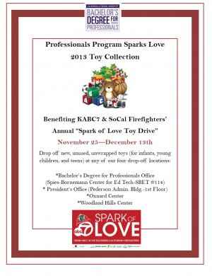 Spark for Love Toy Drive