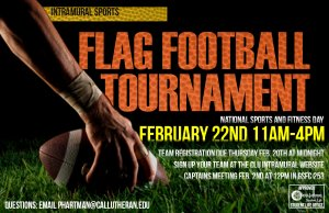 Flag Football Tournament