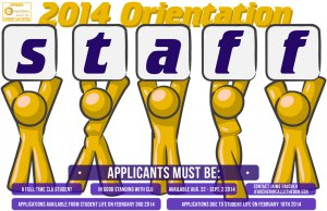 Orientation Staff Application