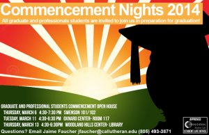 Graduate Commencement Night- Oxnard Center