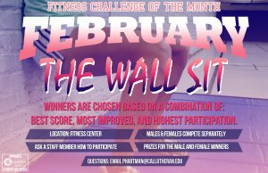 February Fitness Challenge of the Month - Wall Sit