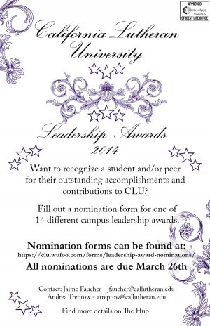 Leadership Award Nominations