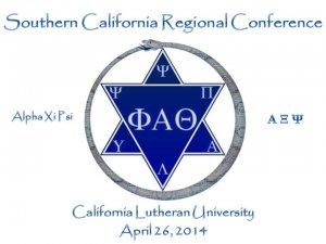 2014 Phi Alpha Theta Southern California Regional Conference