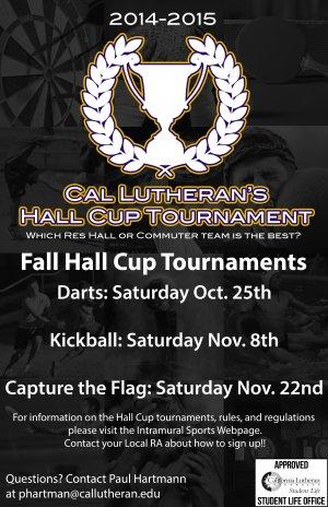 Hall Cup Tournament: Darts