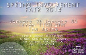Spring Involvement Fair