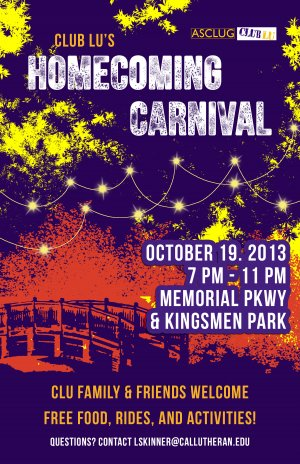 Club Lu: Homecoming Carnival