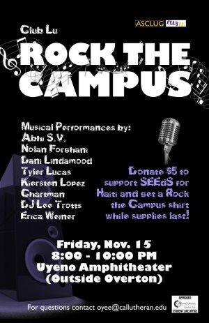 Club Lu: Rock the Campus