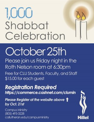 1000 Shabbat Celebration