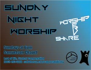 Sunday Night Worship