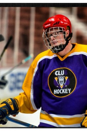 CLU Knights hockey game opener