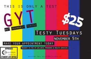 Testy Tuesday