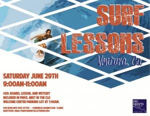 Ventura Surf Lessons