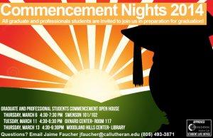 Graduate Commencement Night- Oxnard Center