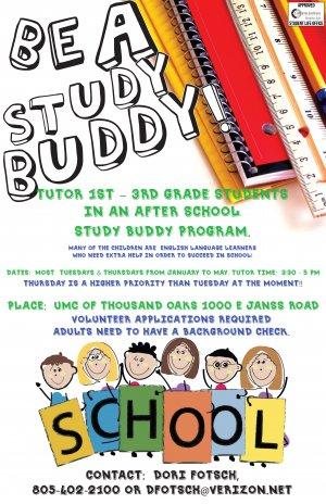 Study Buddy at UMC of Thousand Oaks
