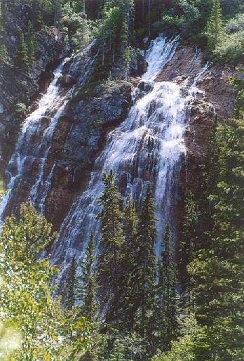 Picture of Grassi Lake Falls