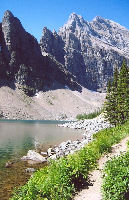 Picture of Lake Agnes trail