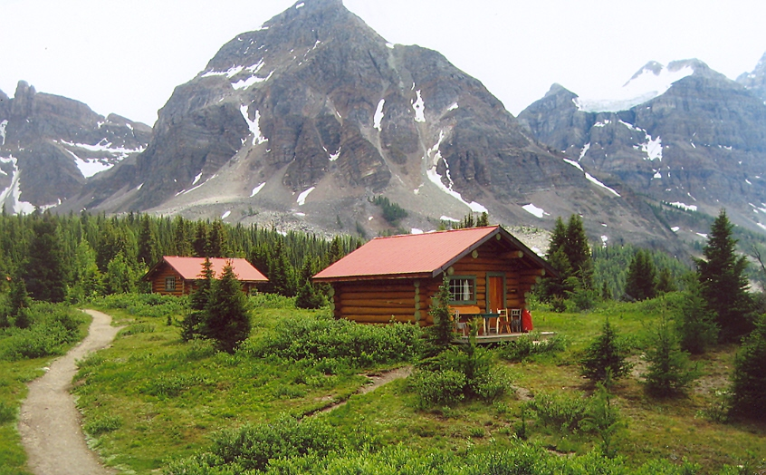 Picture of Mt, Assiniboinr cabins