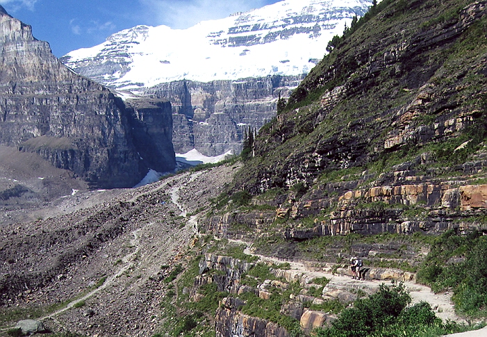 Picture of Trail to 6 glaciers