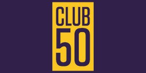 CLUB 50 Social Tent at the Homecoming Festival
