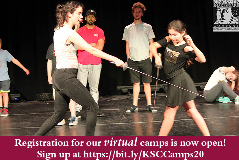 Summer Shakespeare Camp (Virtual)