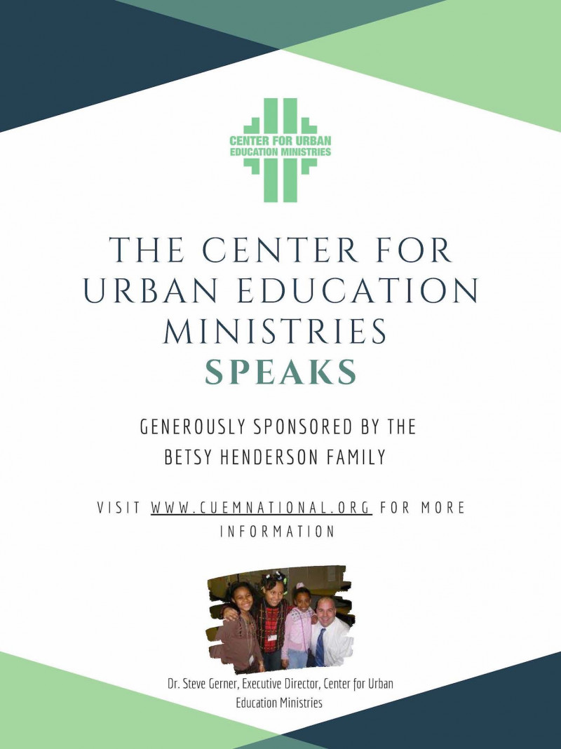 The Center for Urban Education Ministries SPEAKS