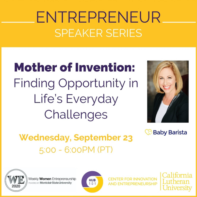 Mother of Invention: Finding Opportunity in Life's Everyday Challenges (Virtual)