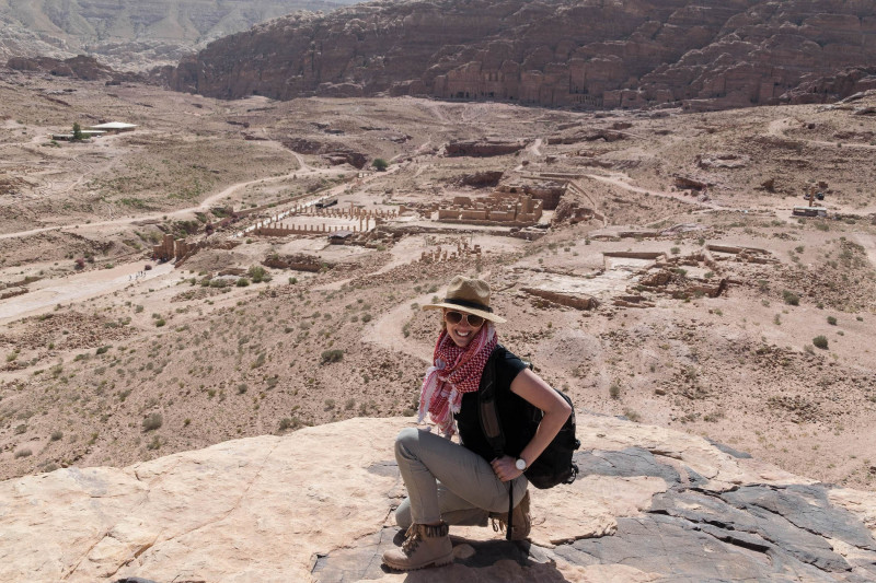 The Red-Rose City of Petra, An Archaeological Tour
