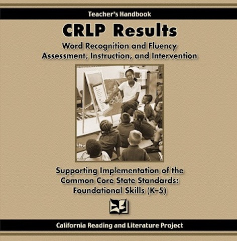 CRLP Results: Word Recognition and Fluency