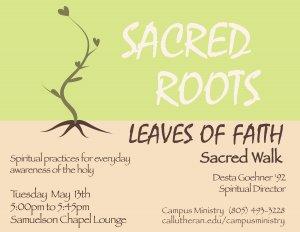 Sacred Roots, Leaves of Faith - Sacred Walk (Labyrinth)
