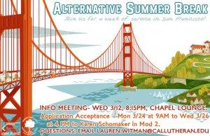 Alternative Summer Break - Application Acceptance