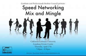 GPSC Presents: Speed Networking
