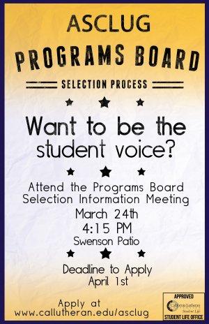 2014-15 Programs Board Application