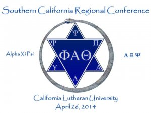 2014 Phi Alpha Theta Southern California Regional Conference