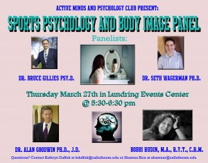 Sports Psychology and Body Image Panel