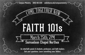 Come Together Now: Faith 101s